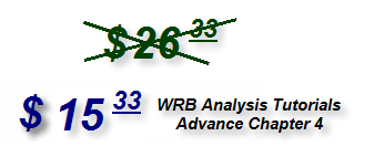 Advance WRB Analysis Tutorial Chapter 4