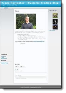 Emmett Moore Jr. Wordpress 2009